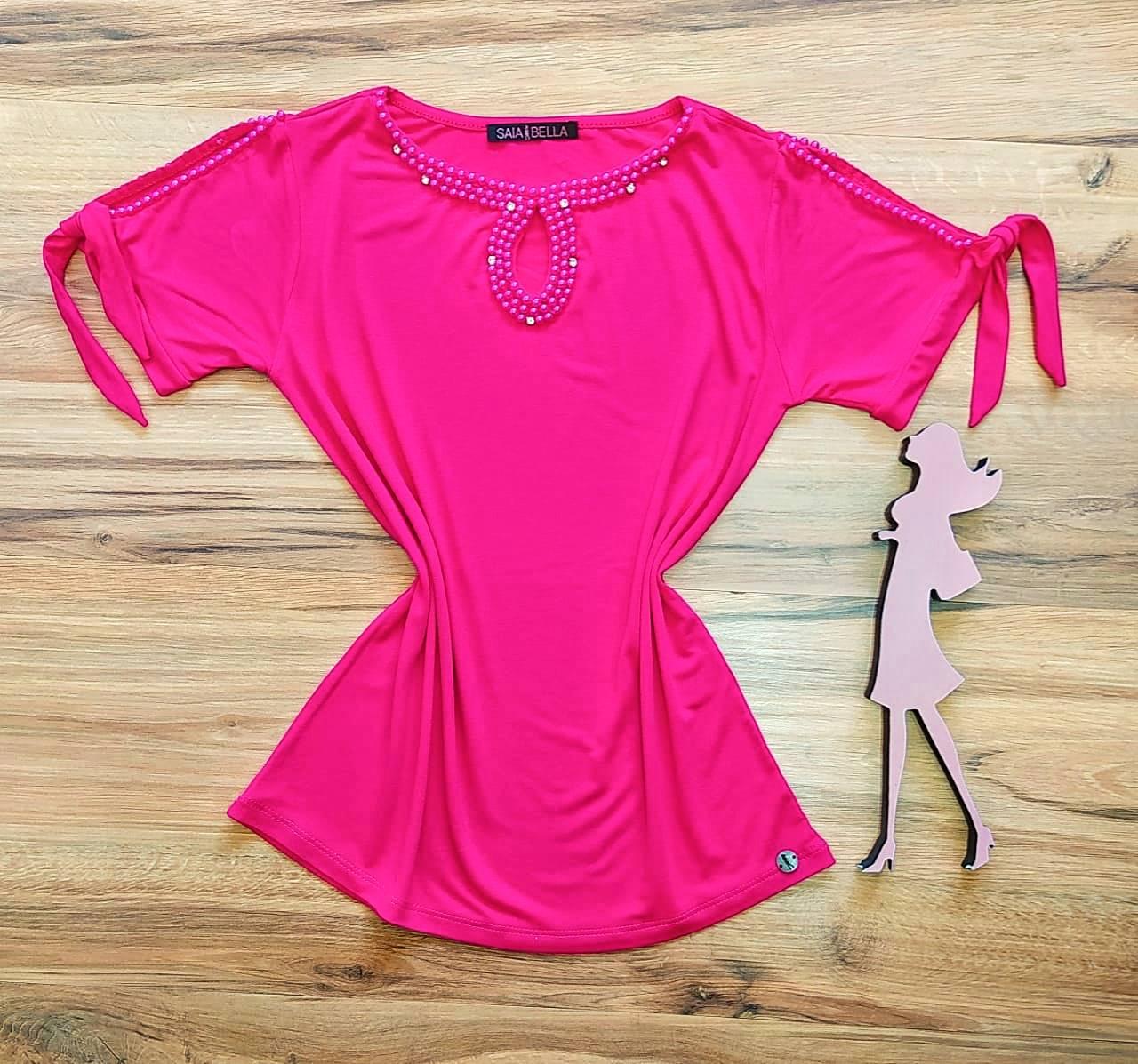 Blusa Lia Saia Bella - SB41257 Pink