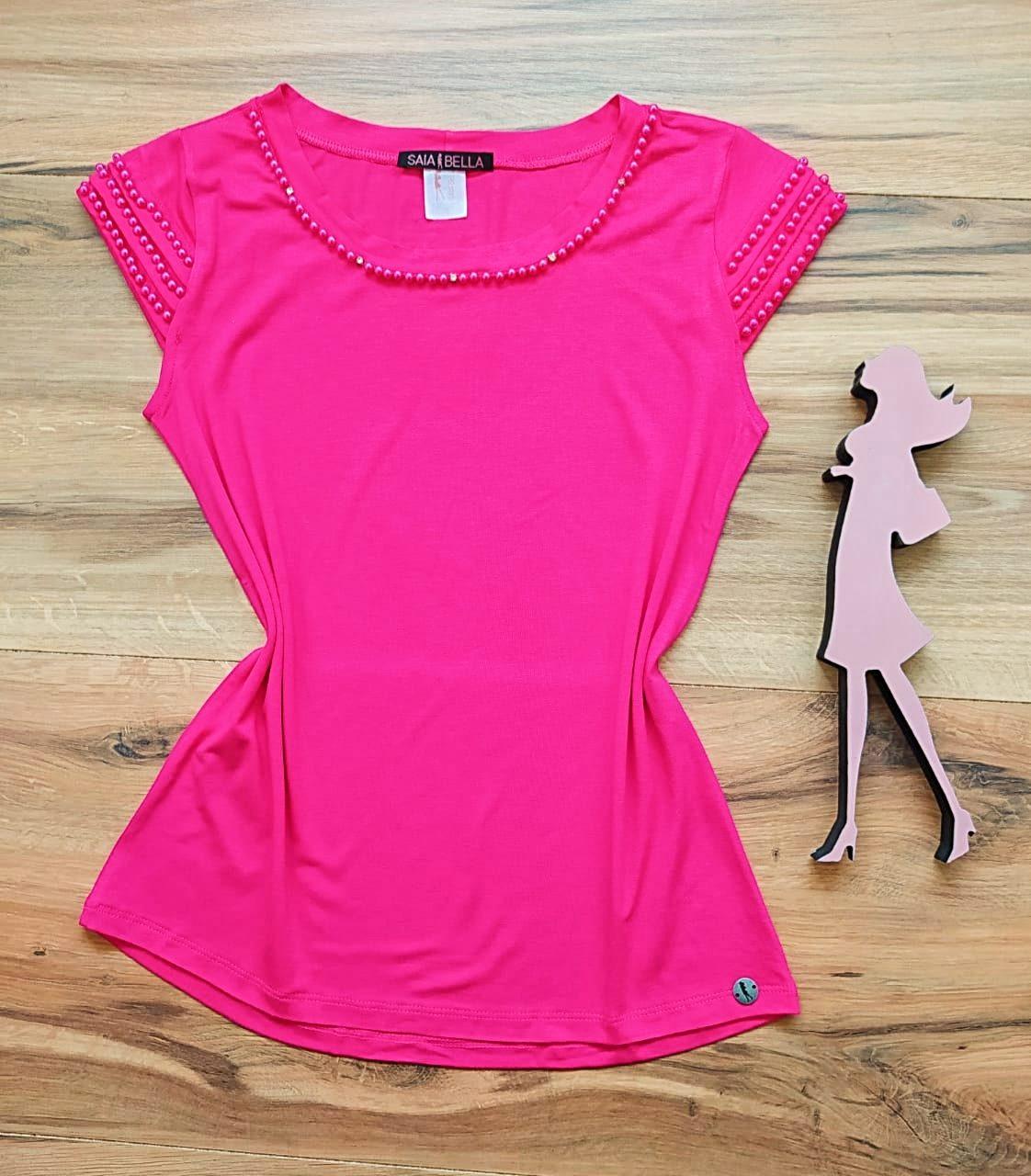 Blusa Raquel  Saia Bella - SB41255 Pink