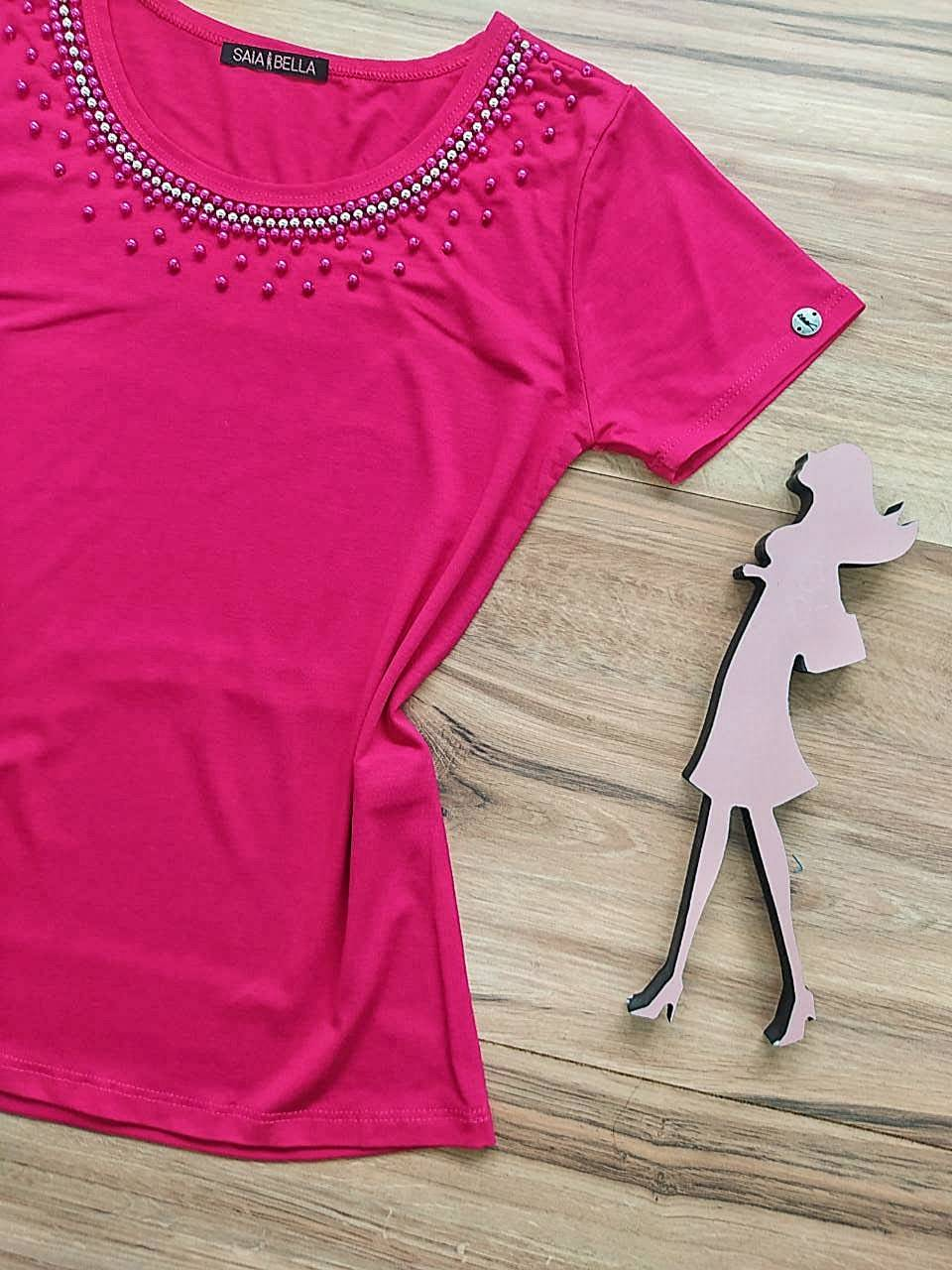 Blusa Rebeca 2.0 Saia Bella - SB41250 Pink