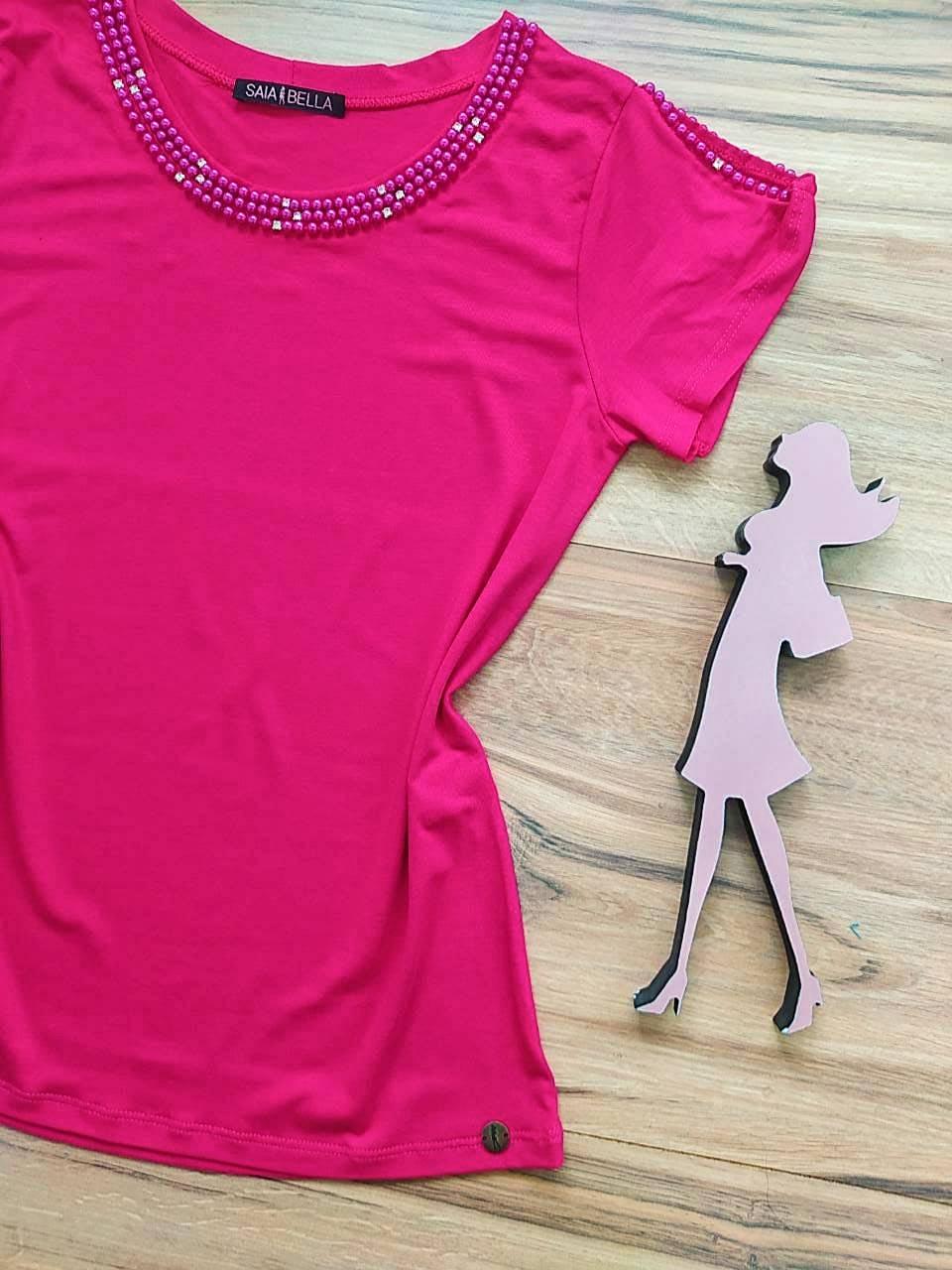 Blusa Rute  Saia Bella - SB41256 Pink