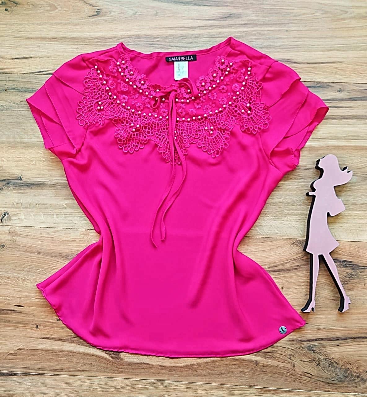 Blusa Yone Saia Bella - SB27812 Pink