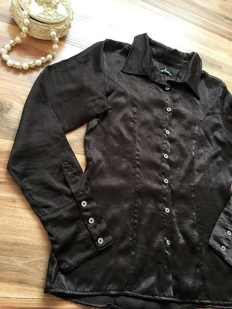 Camisa Morgana SB189 Marrom