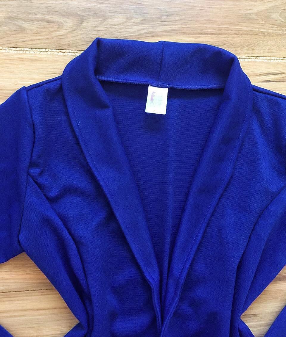Casaco Brenda Saia Bella SB3861 azul royal
