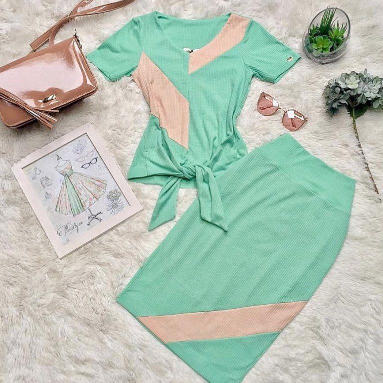 Conjunto Celina Verde SBL1813A