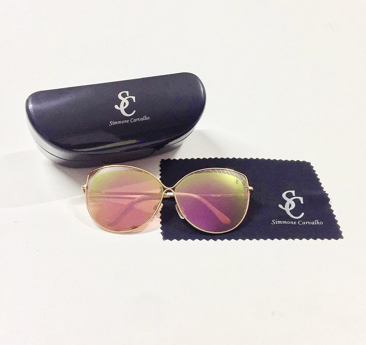 Óculos de Sol Adryele By Simmone Carvalho Rosa