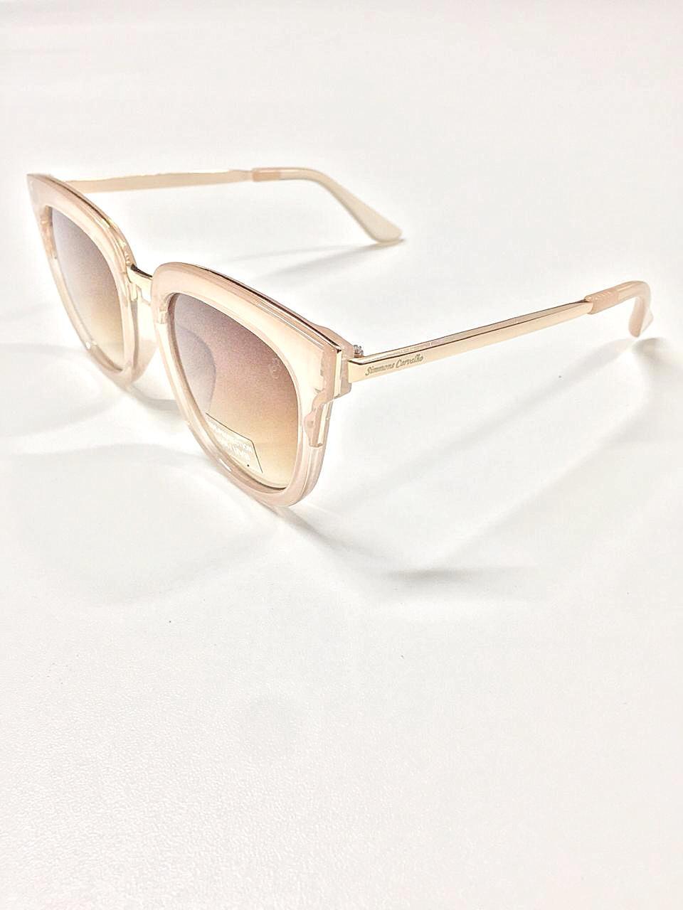Óculos de Sol Eliete By Simmone Carvalho Caramelo