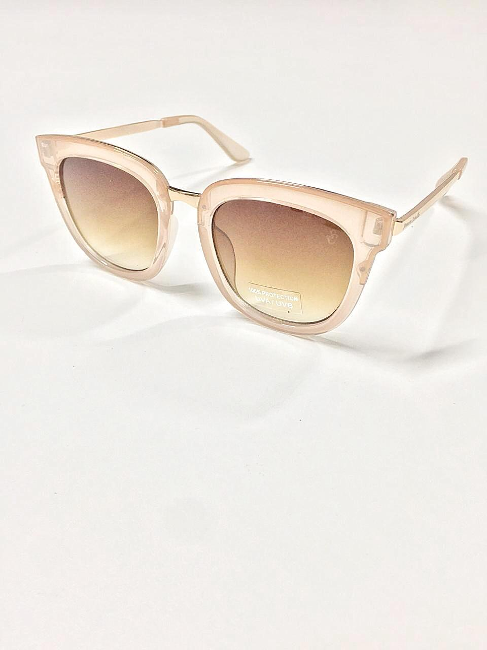 Óculos de Sol Cristiane By Simmone Carvalho Caramelo