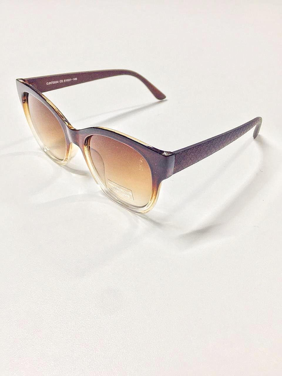 Óculos de Sol Evellyn By Saia Bella Marrom