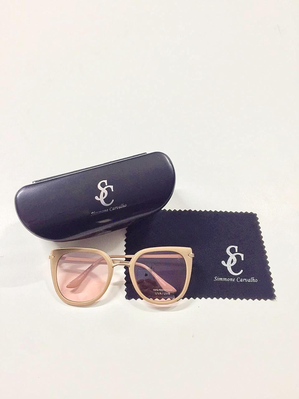 Óculos de Sol Fernanda By Simmone Carvalho Rosa