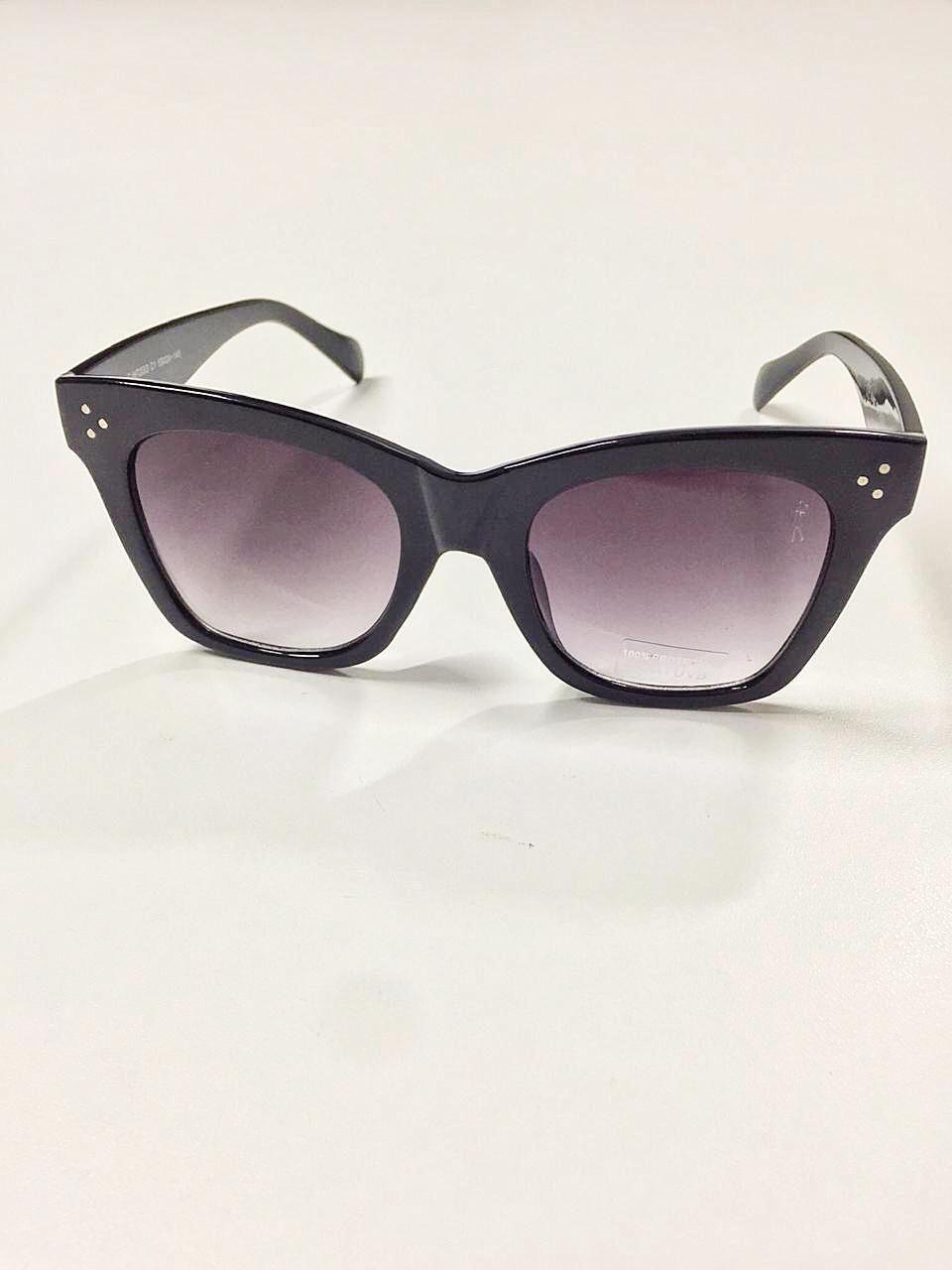 Óculos de Sol Joana By Saia Bella Preto