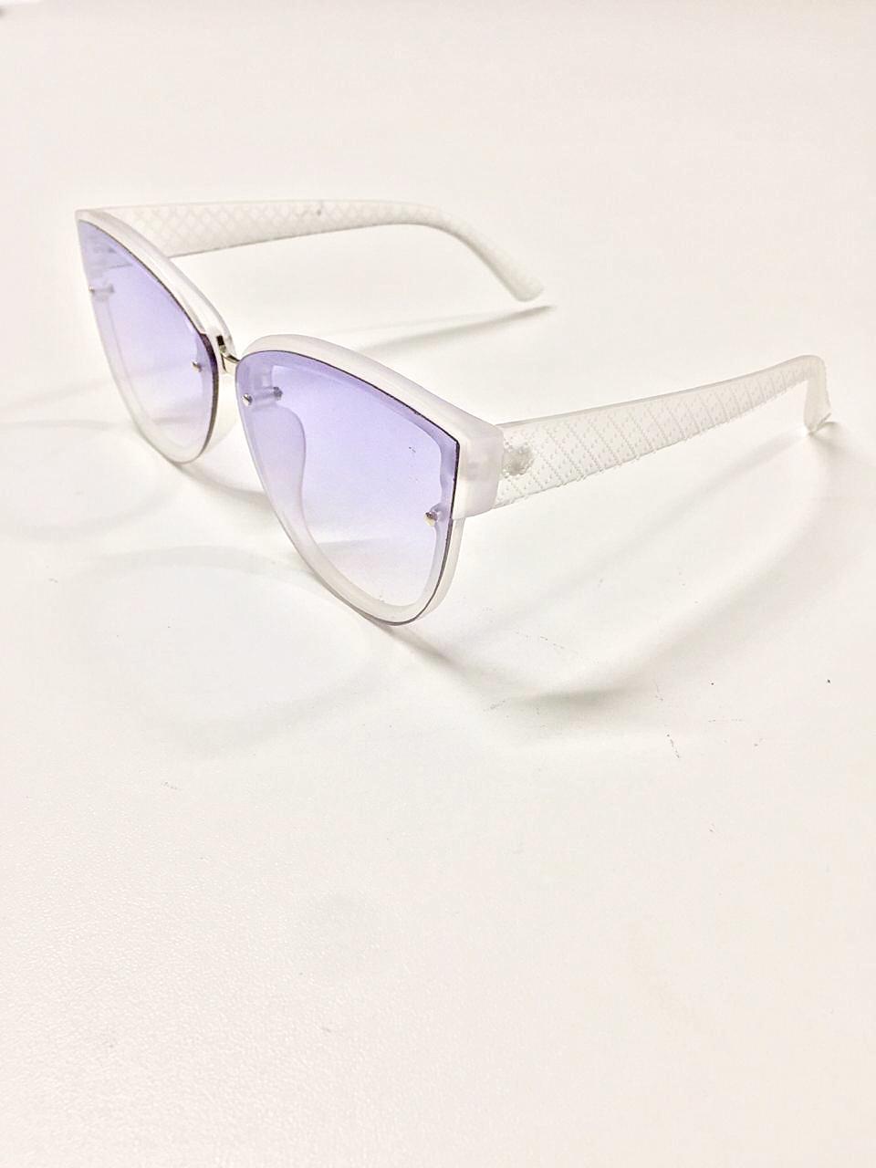 Óculos de Sol Laís By Saia Bella Transparente