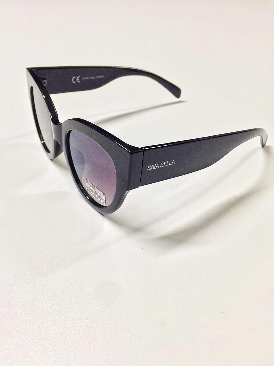 Óculos de Sol Liege By Saia Bella Preto