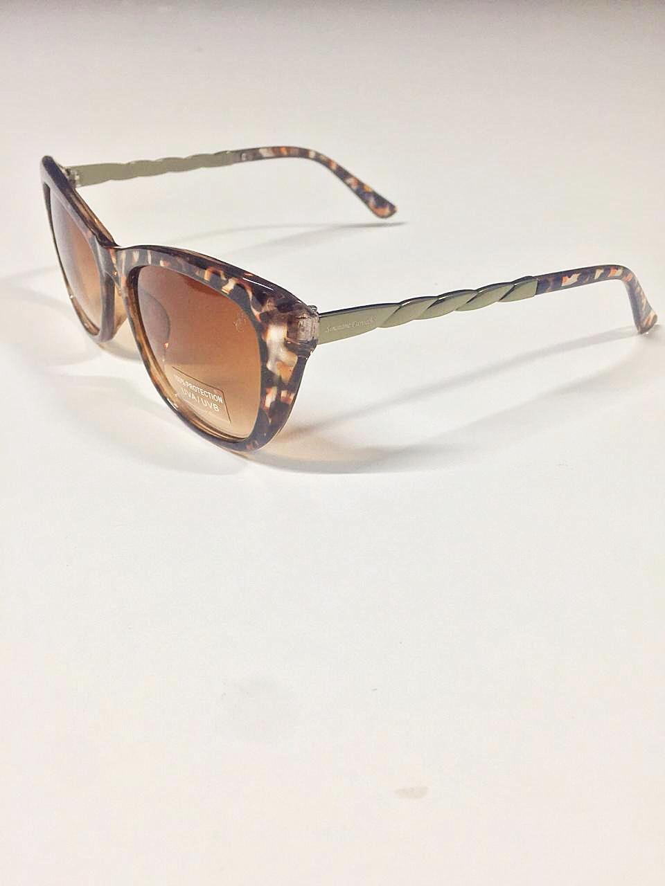 Óculos de Sol Pollyana By Simmone Carvalho Tartaruga