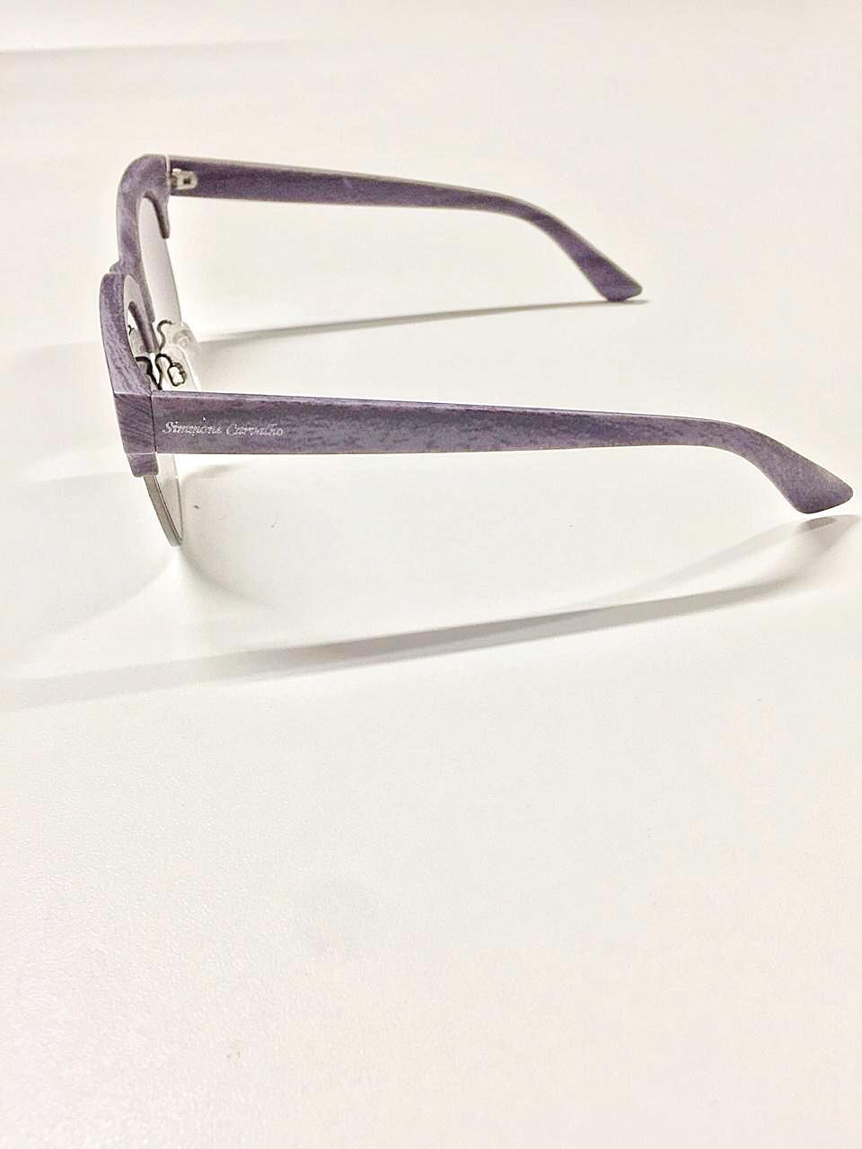 Óculos de Sol Sandra By Simmone Carvalho Cinza