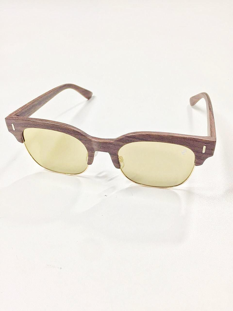 Óculos de Sol Sandra By Simmone Carvalho Marrom