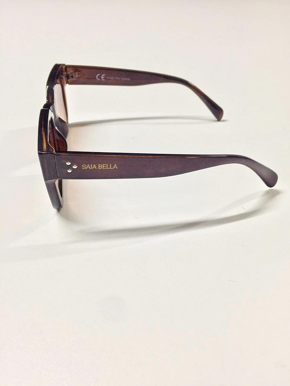 Óculos de Sol Tamiris By Saia Bella Marrom