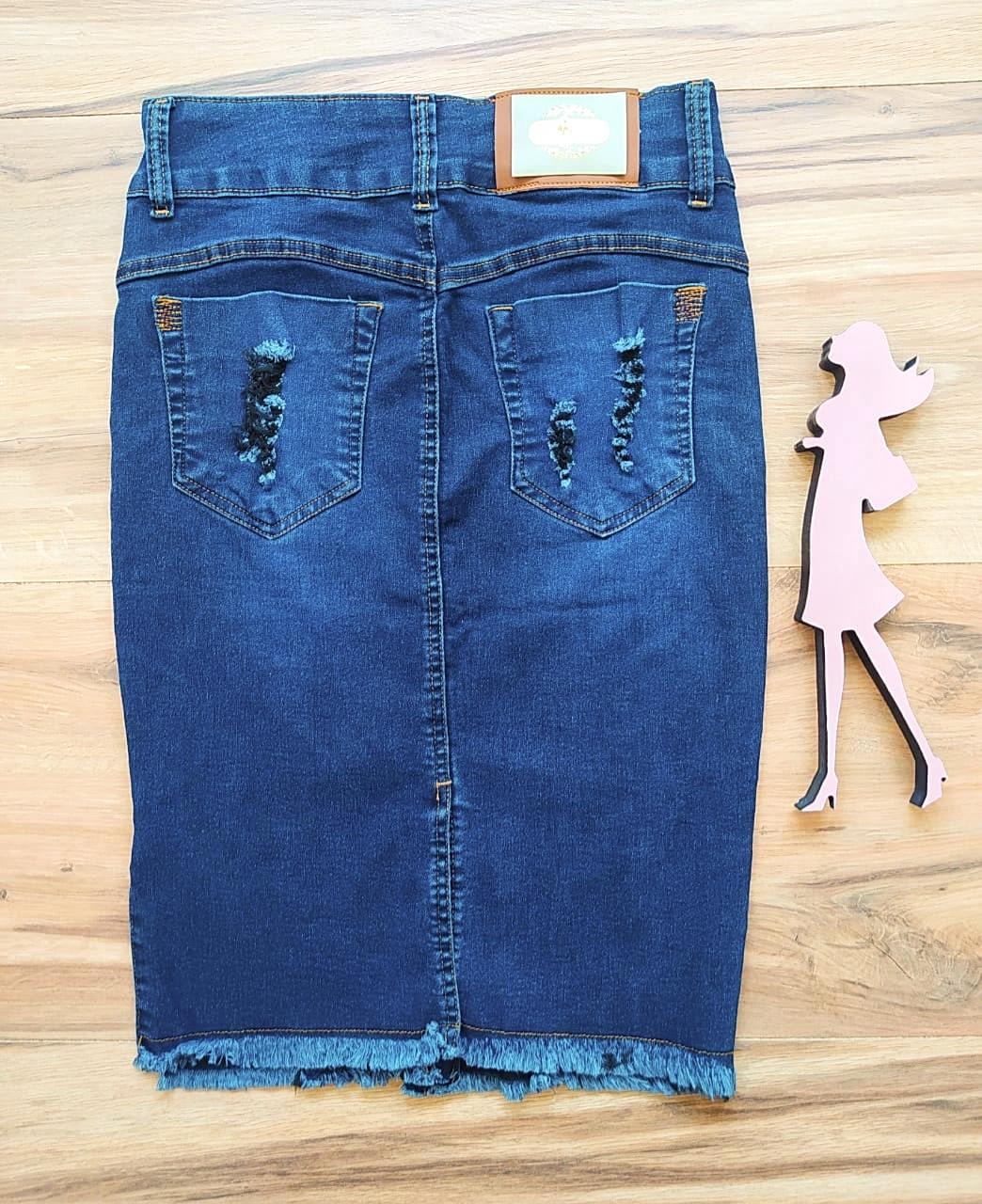 Saia Jeans Artêmis Saia Bella SB91020