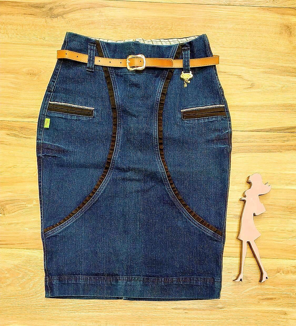 Saia Jeans básica RJ13840