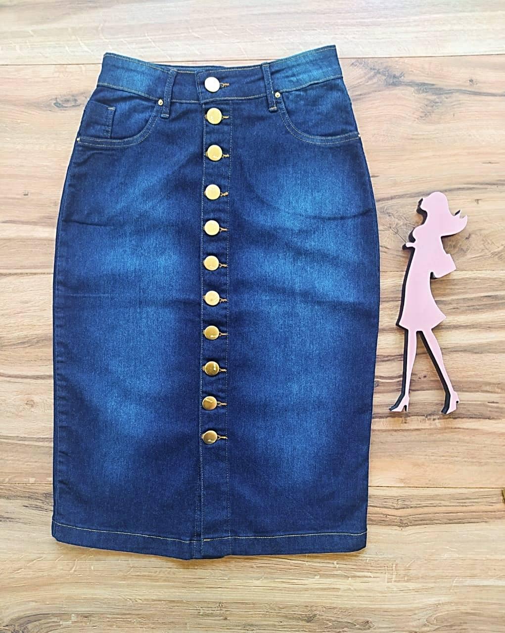 Saia Jeans Carla SB124