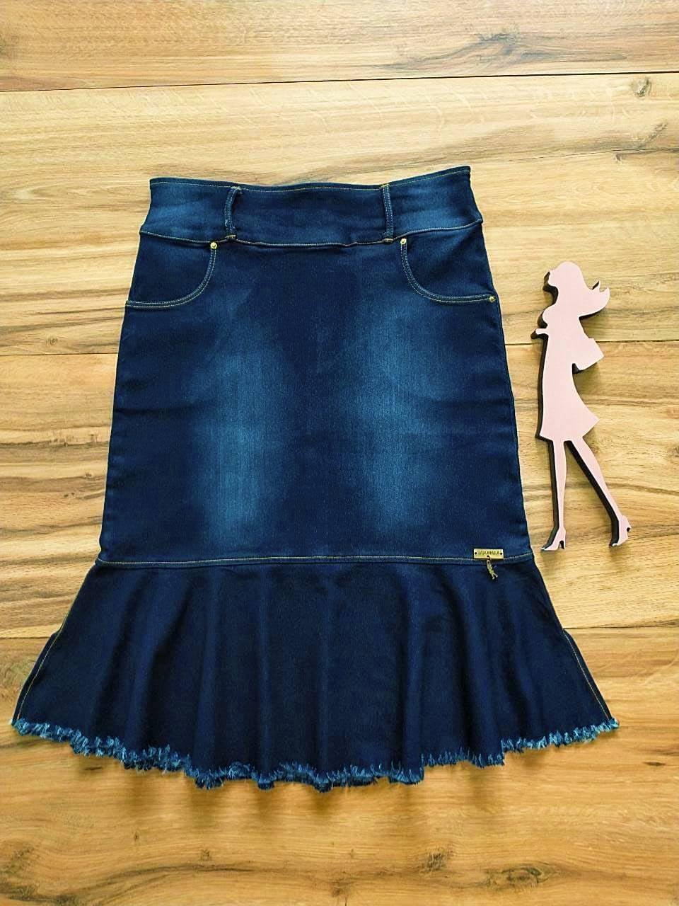 Saia Jeans Cassia Saia Bella SB592782 - A