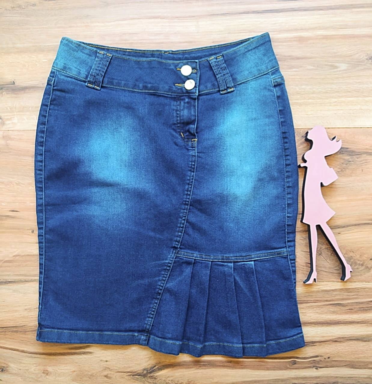 Saia Jeans Clássica SB005312