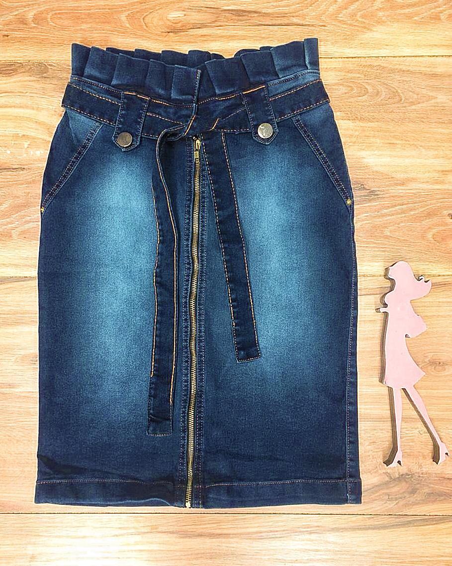 Saia Jeans Coleção Encanto Saia Bella SB051