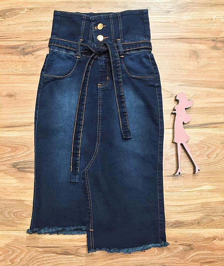 Saia Jeans Coleção Festas Saia Bella SB071
