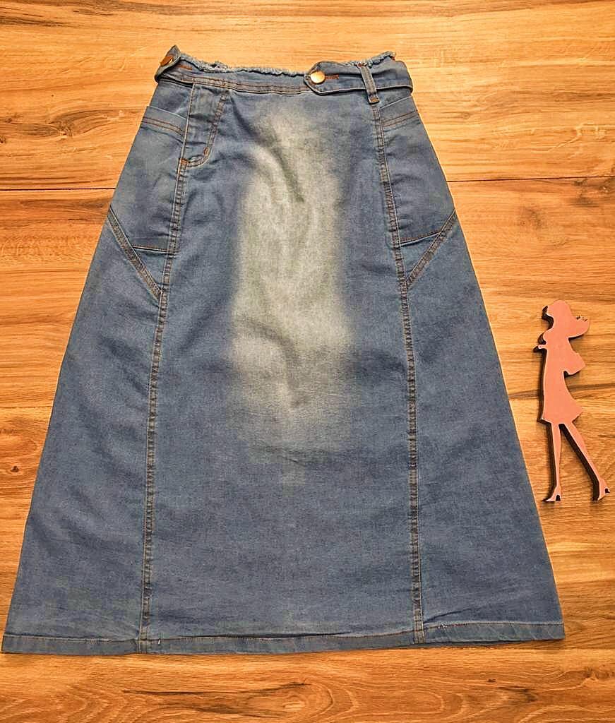 Saia Jeans Coleção Fim de Ano Saia Bella SB070