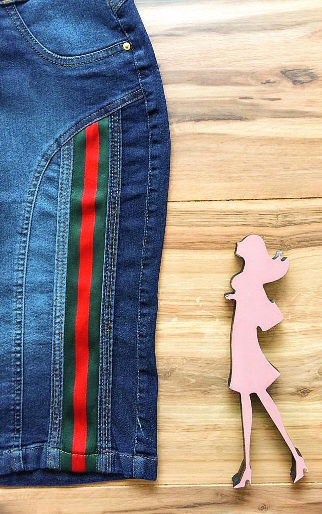 Saia Jeans Coleção Outono AT001