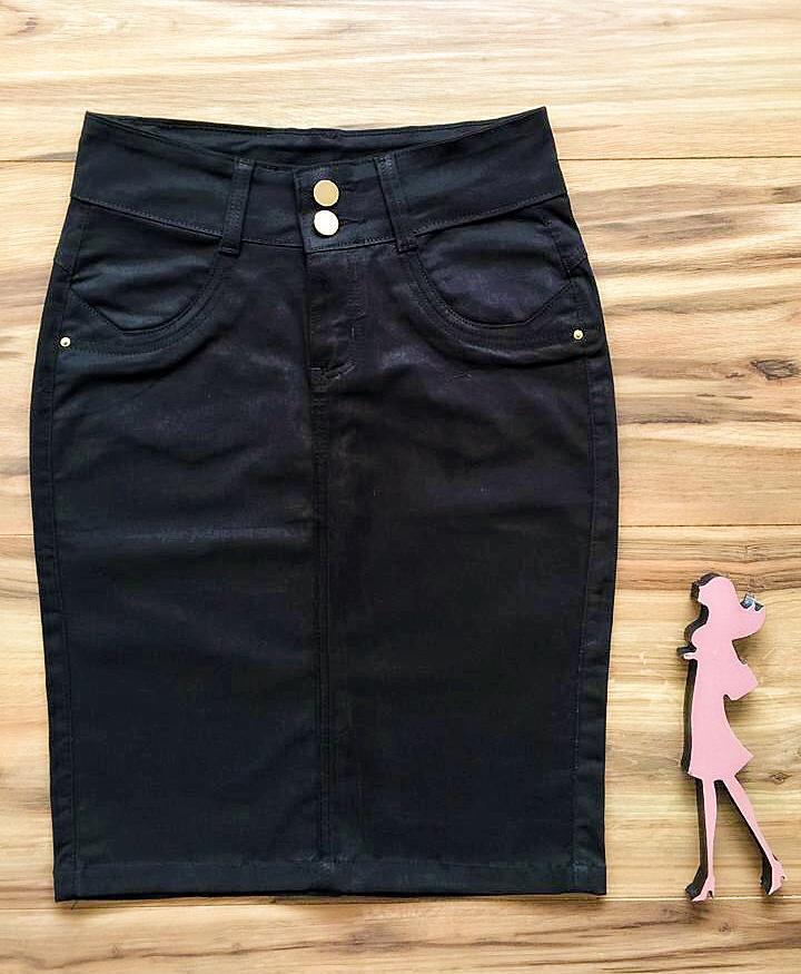 Saia Jeans Coleção Outono AT010