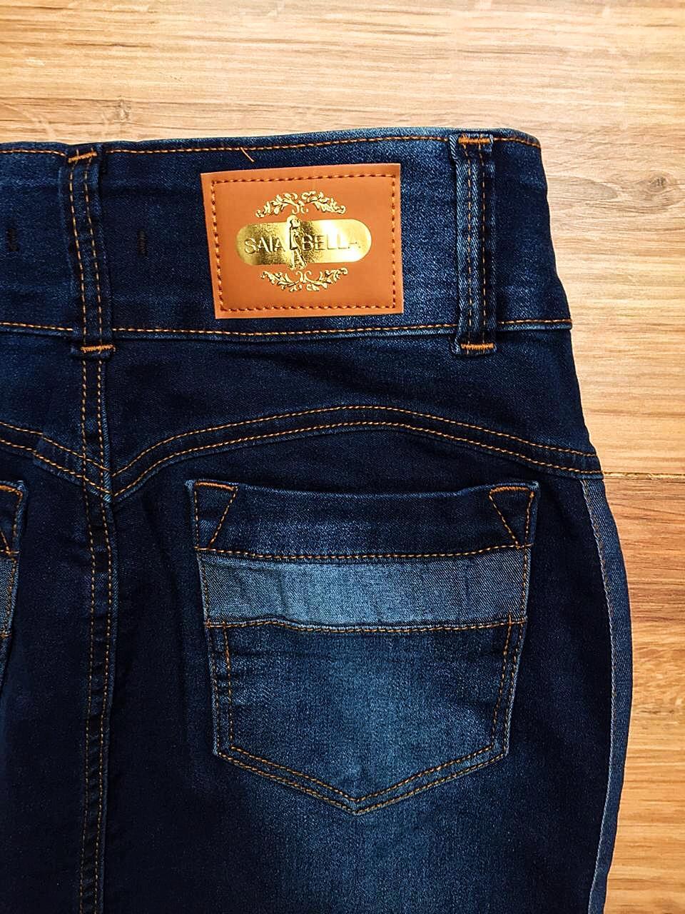Saia Jeans Coleção Primavera Saia Bella SB044