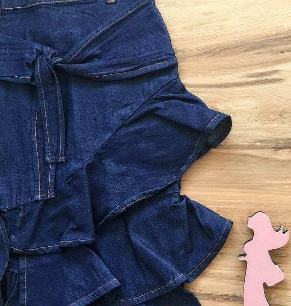 Saia Jeans Coleção Verão AT071