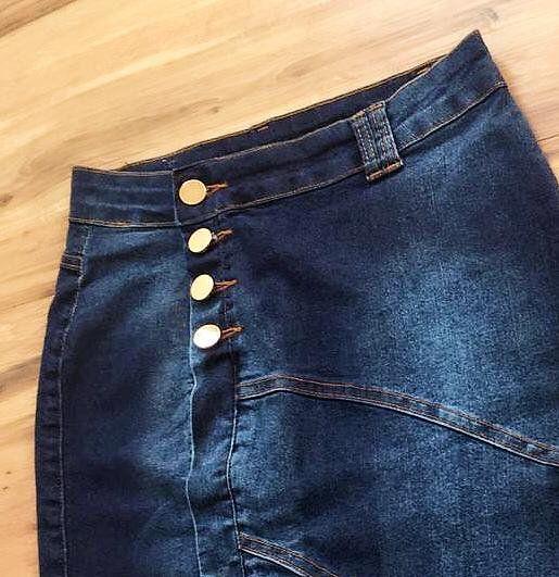 Saia Jeans Coleção Verão  AT075