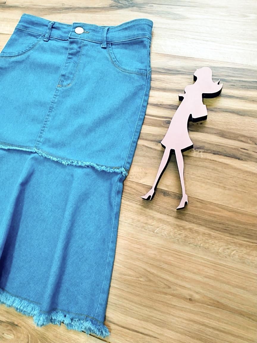 Saia Jeans Ellen SAIA BELLA SB991120 - Azul Claro