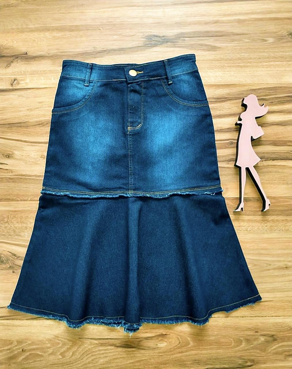 Saia Jeans Ellen SAIA BELLA SB991120 - Azul Escuro