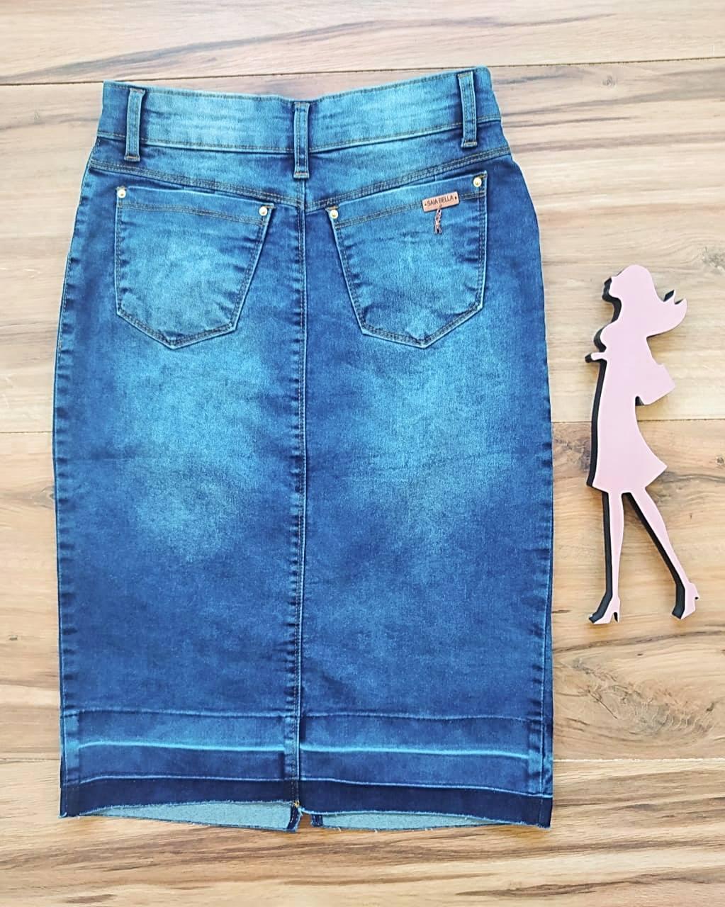 Saia Jeans Grazy SAIA BELLA SB5135 Azul Claro
