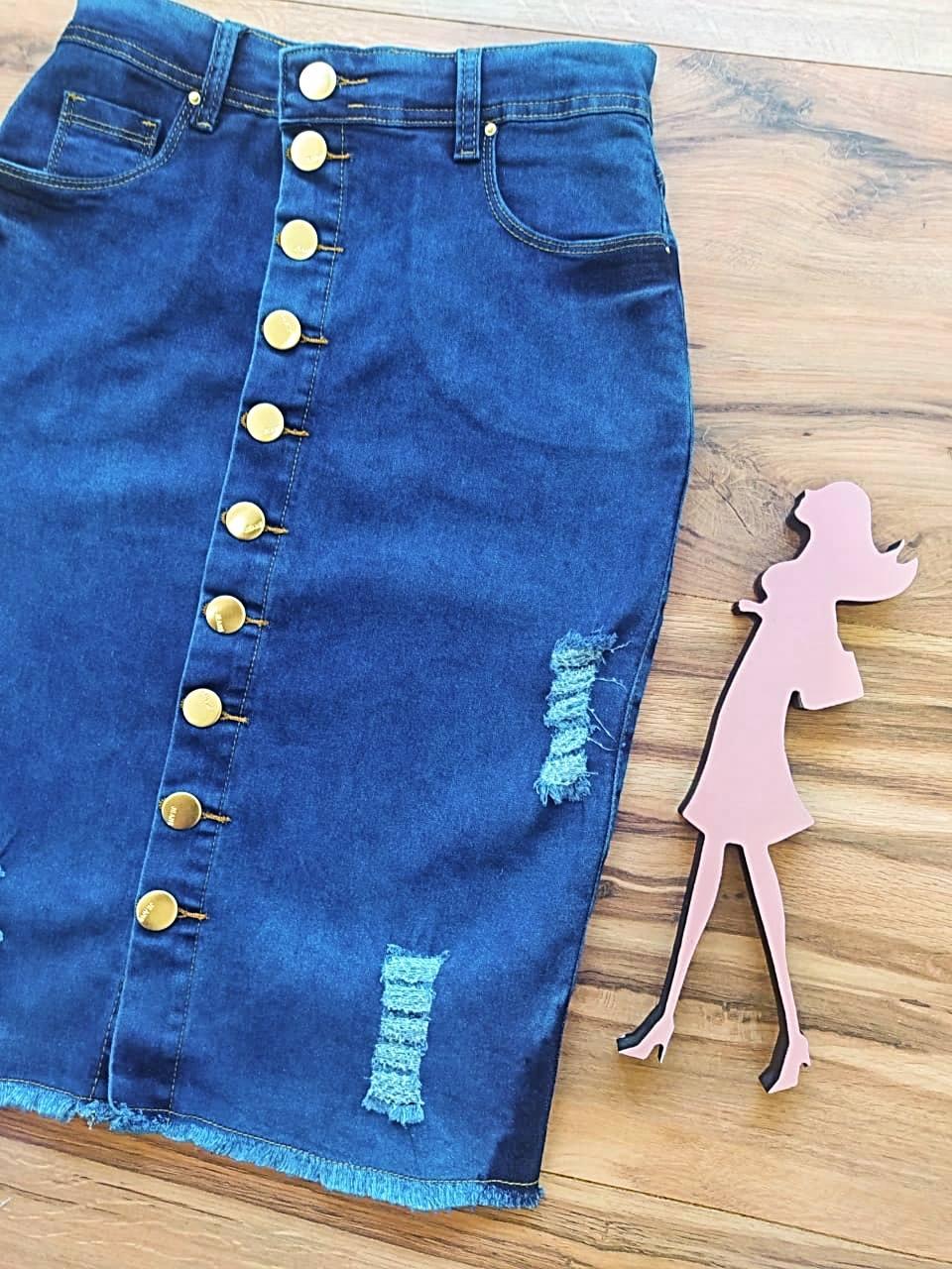 Saia Jeans Helena SB123