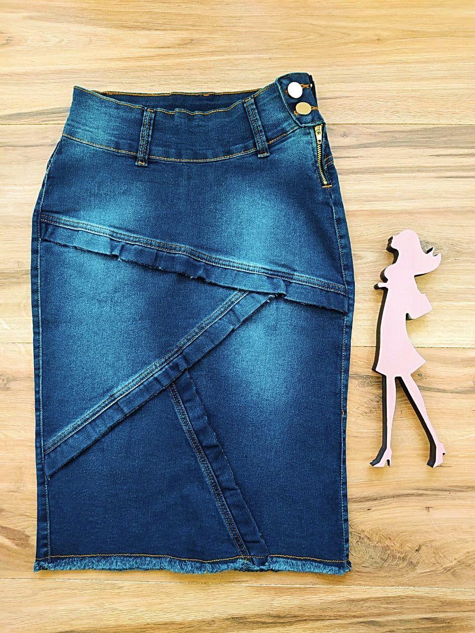Saia Jeans Jessica SB005