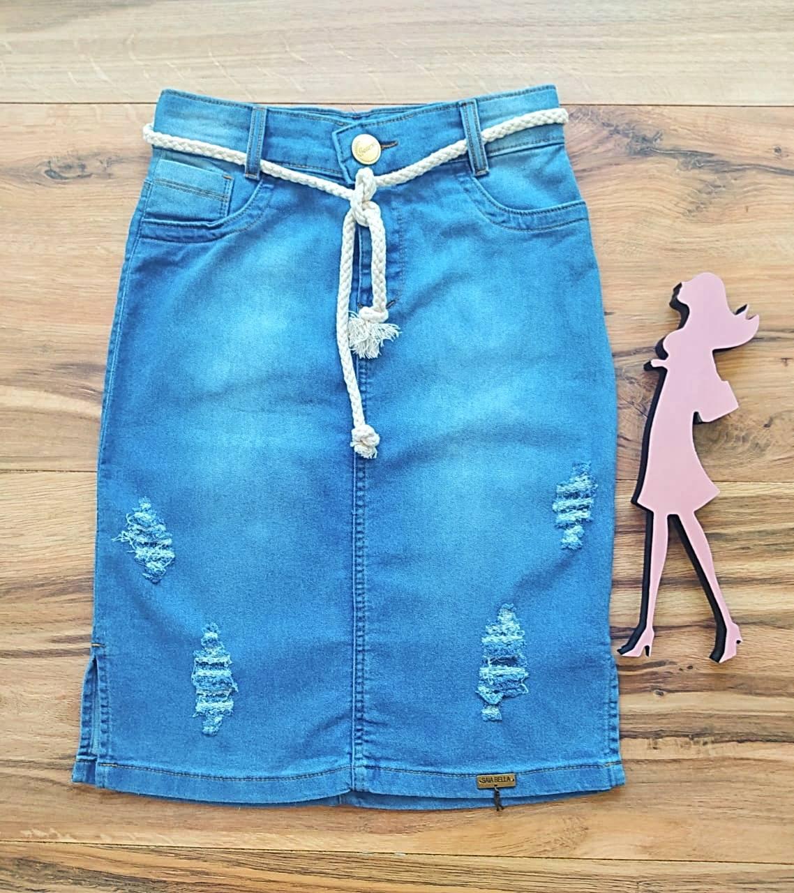 Saia Jeans Laura SB126