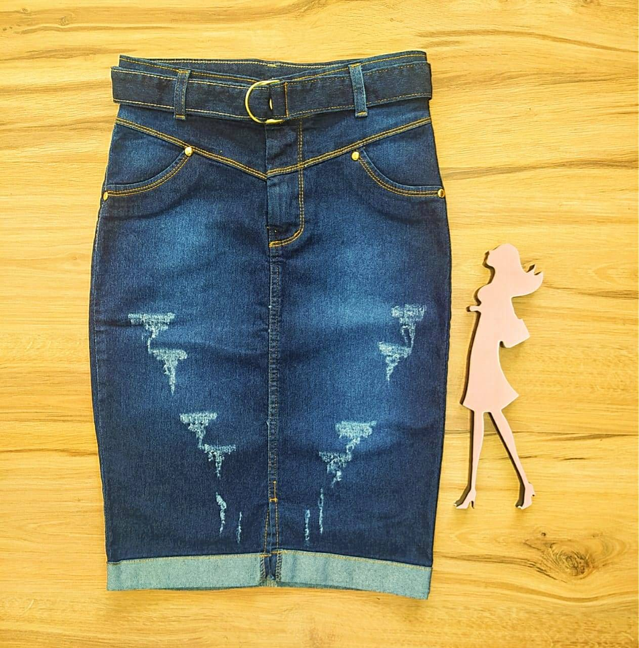 Saia Jeans Manu SAIA BELLA  SB471200781