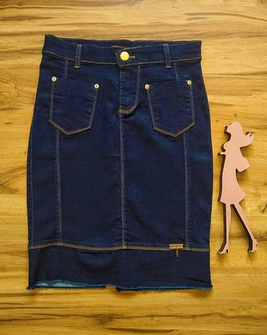 Saia Jeans Mariah SAIA BELLA SB707182 Azul Escuro