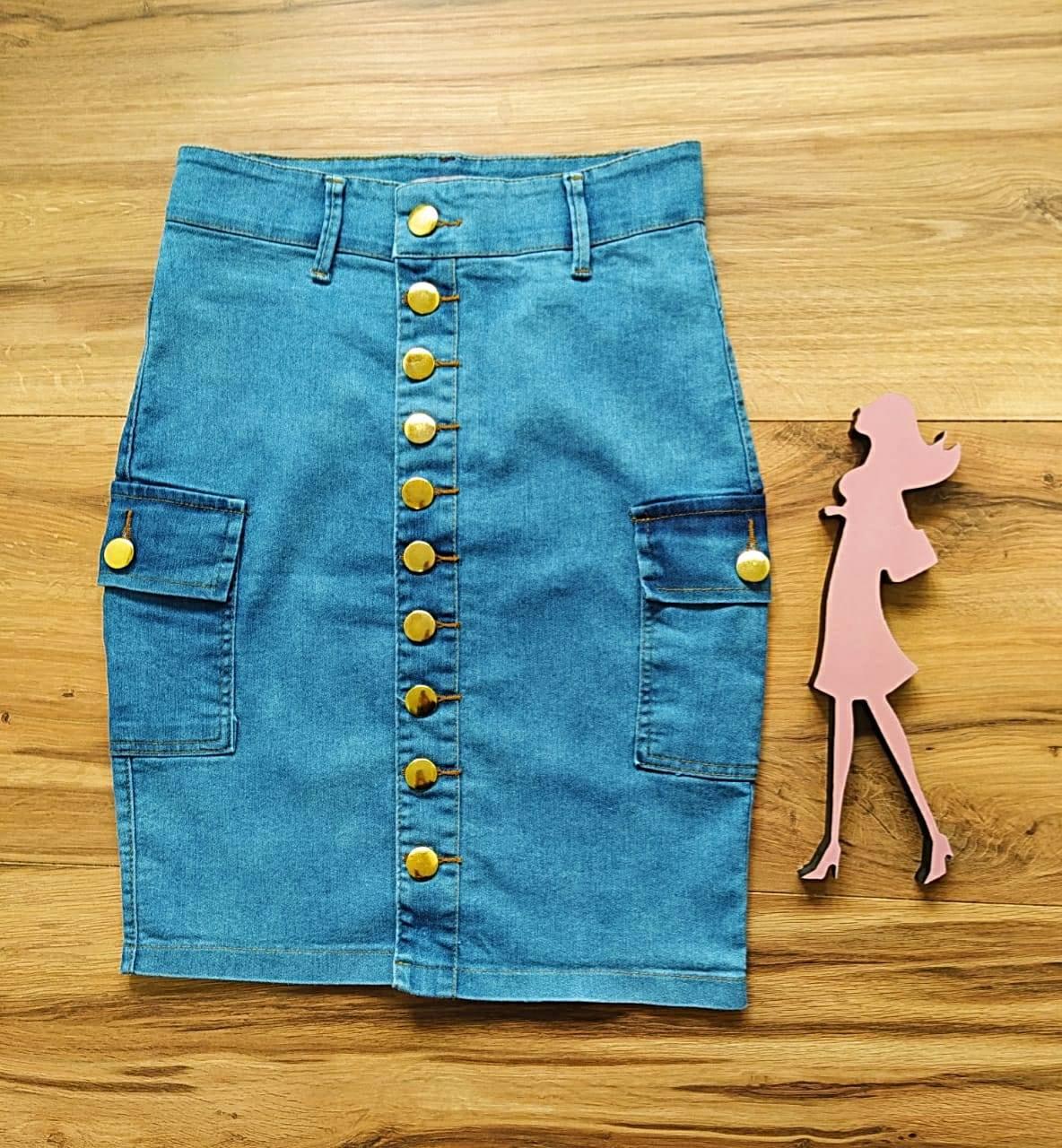 Saia Jeans Nicole  SAIA BELLA SB5620 - Azul Claro
