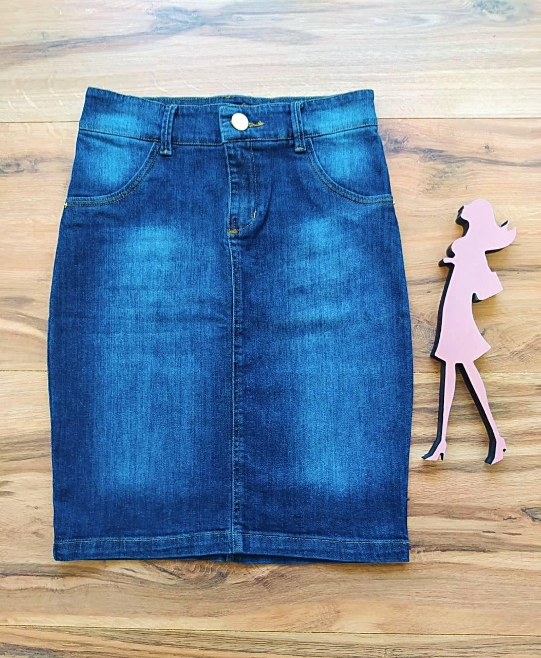 Saia Jeans Pâmela SAIA BELLA SB5618 Azul Escuro
