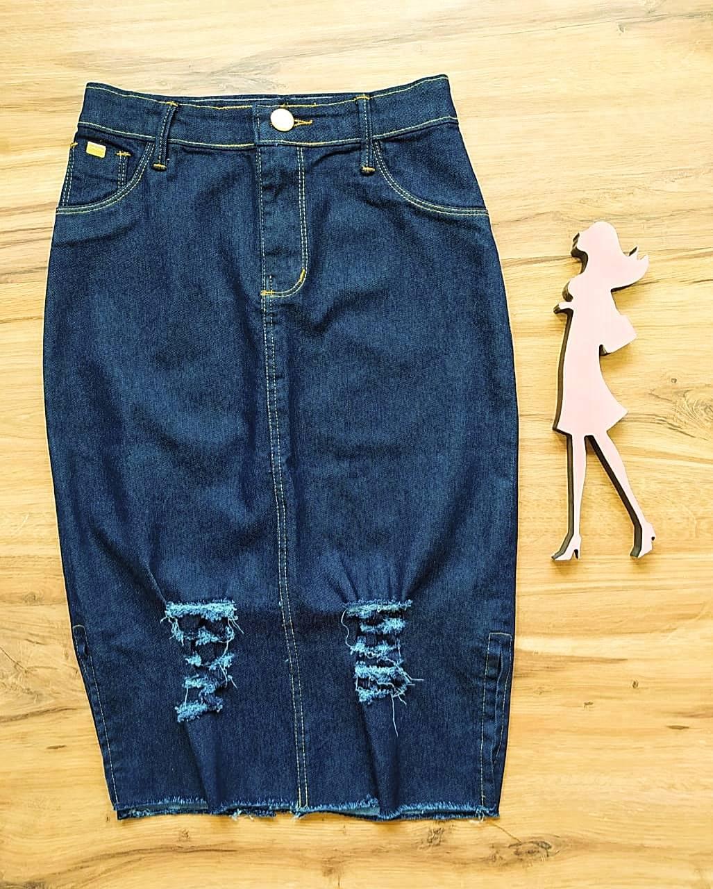 Saia Lika Jeans SAIA BELLA SB11722