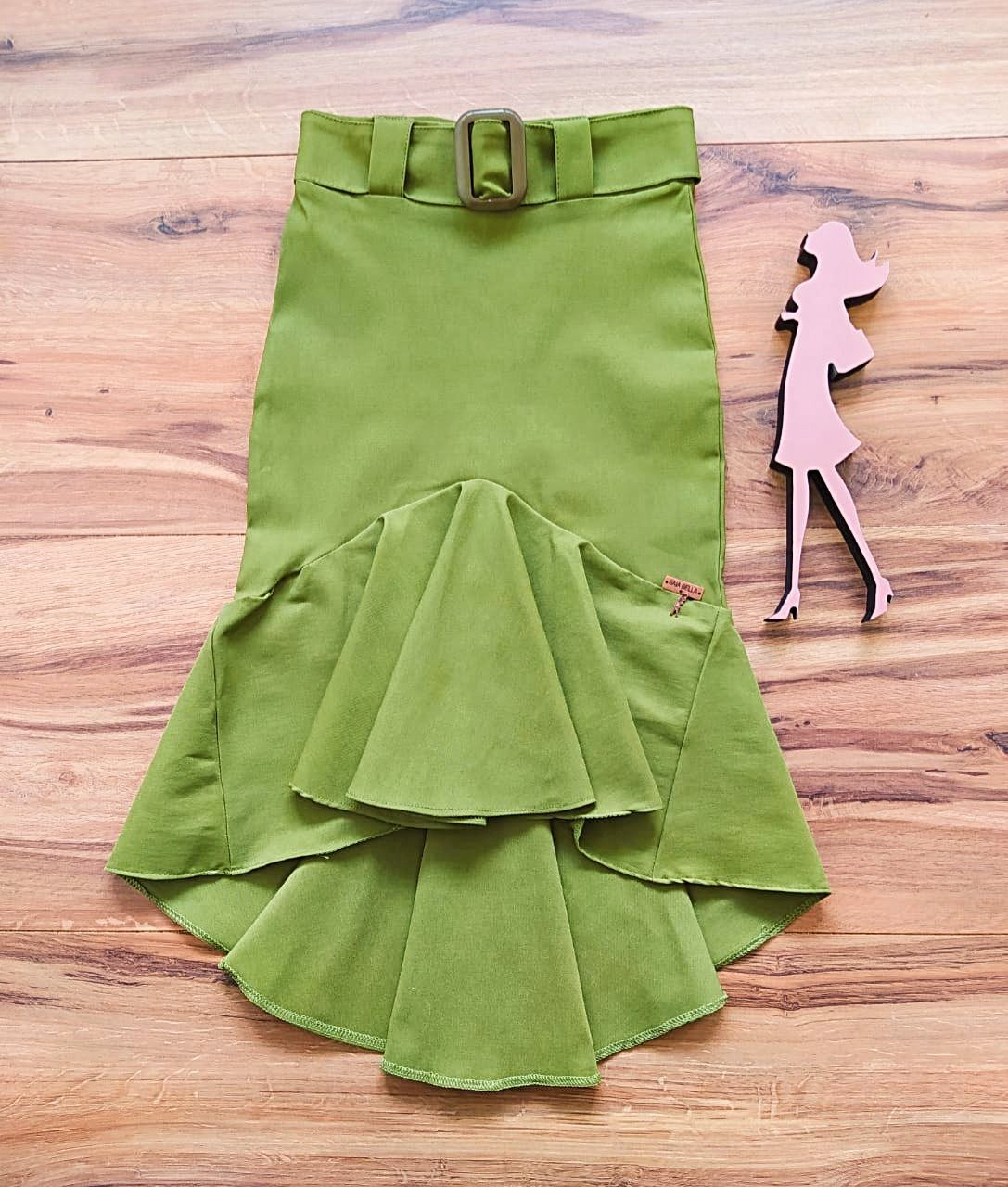Saia Lucy Saia Bella SRB7891 Verde Abacate