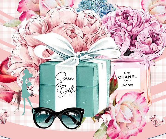Saia Midi Chanel Saia Bella cod SBE002