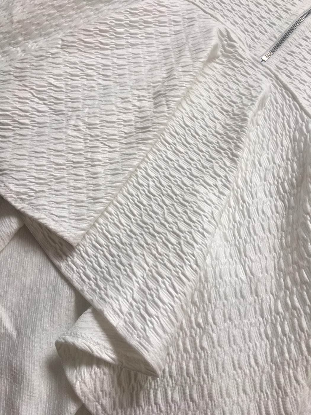 Saia Sereia de Ziper Frontal Saia Bella cod SB7707.branco