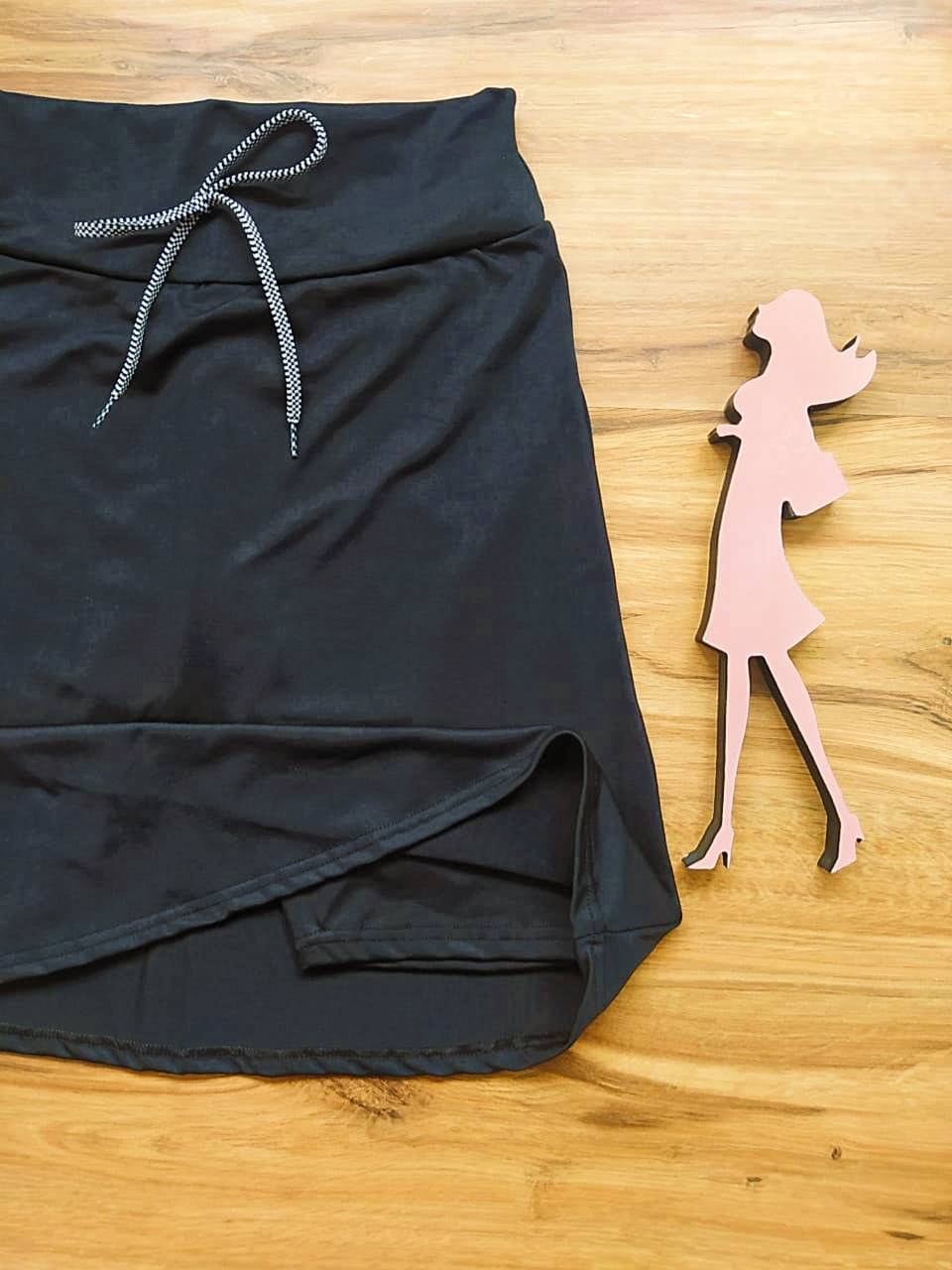 Saia Shorts Duda - Esporte Fitness Saia Bela - SBF001