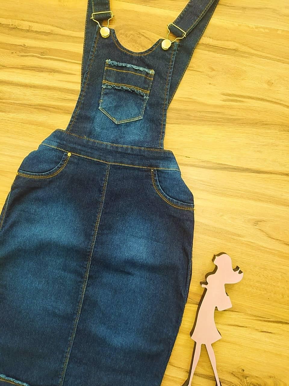 Salopete Jeans Judite Saia Bella  SB4712007811