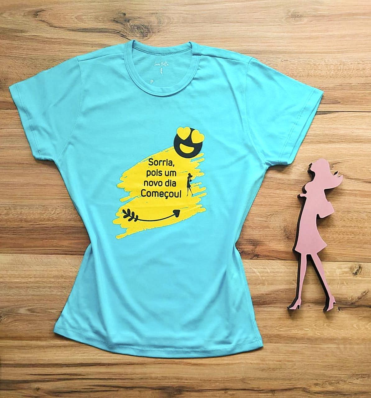 T-shirt Alegria Saia Bella SB79003 Azul